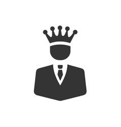 Business winner icon vector