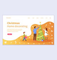 family preparation vector image