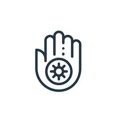 Jainism icon jainism editable stroke jainism vector