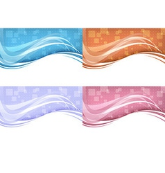 Technology background - abstract concept vector image