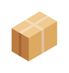 carton container vector image vector image