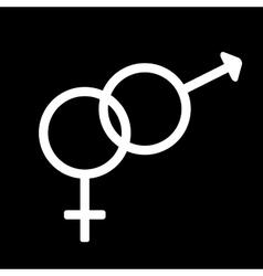Gender sign 210 vector image