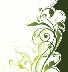 floral background element vector image