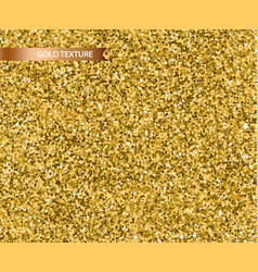 golden glitter texture realistic detailed vector image