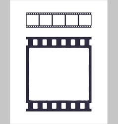 seamless template cinema or photo strip vector image