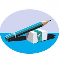 eraser vector image vector image