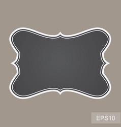blank vintage frames vector image