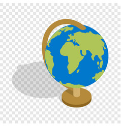 globe isometric icon vector image