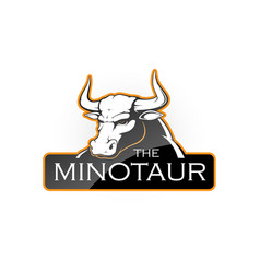 minotaur vector image
