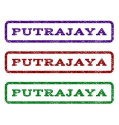 putrajaya watermark stamp vector image