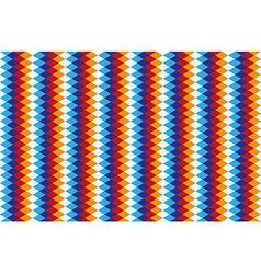 rhombus pattern vector image