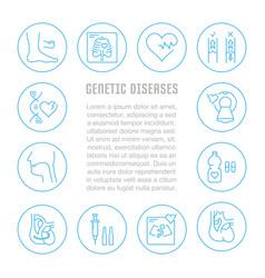 Website banner and landing page genetic vector