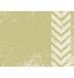grungy worn hazard stripes vector image vector image