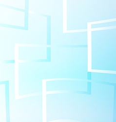 Flying windows on the blue sky vector image