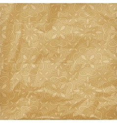 crumpled paper pattern vector image vector image