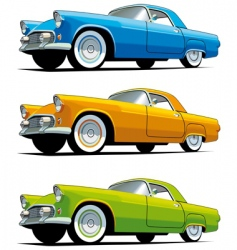 American old-fashioned car vector