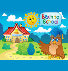 Back to school thematic image 6 vector