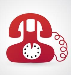 Classic telephone vector