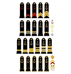 Insignia of the French Navy vector