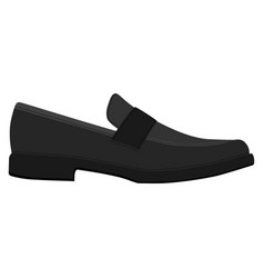 men shoes isolated classic loafers male man vector image
