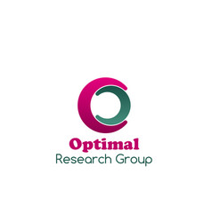 optimal research group design vector image