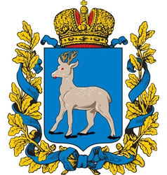 Samara Oblast vector image
