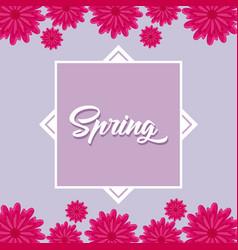 Spring season design vector