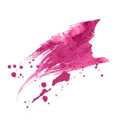Woman profile silhouette vector