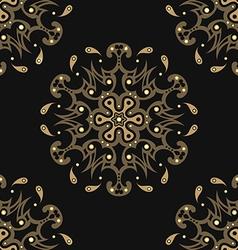 Diamonds seamless pattern vector image