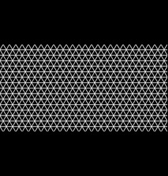 black triangular abstract background grunge vector image