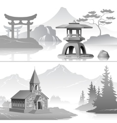 East and west vector