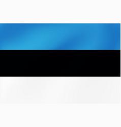 national flag estonia baltic wavy texture vector image