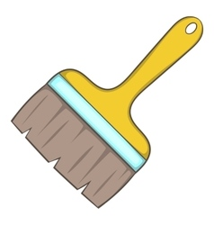 Paint brush icon cartoon style vector