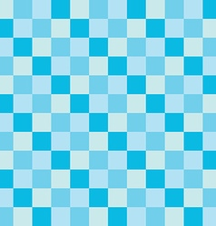 popular blue sky sea color tone checker chess vector image