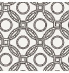 seamless pattern of ornate interlocking vector image