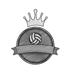 Voleyball sport game vector