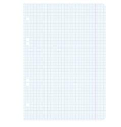 White squared blank white paper sheet vector