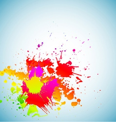 Colorful grunge background vector image