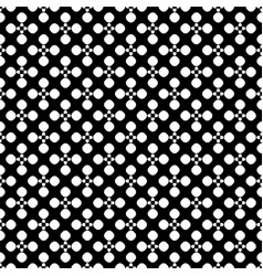 seamless pattern floral dotted geometric texture vector image vector image
