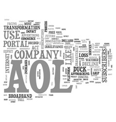 Aol customer service number text word cloud vector