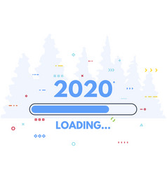 Loading christmas vector