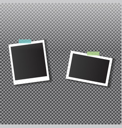 photo frame template for your photos vector image