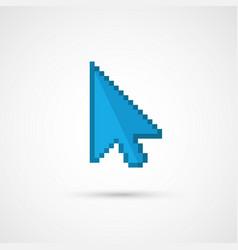 Pixel cursor icon - cursor vector