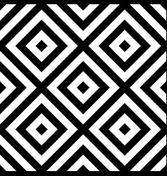 Repeatable geometric pattern abstract monochrome vector
