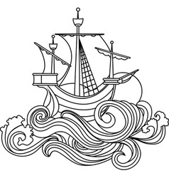 sea 2 vector image