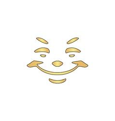 Smile computer symbol vector