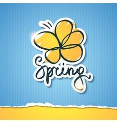 Spring eps 10 vector