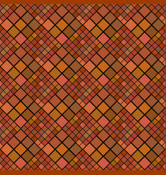 Square pattern background design - abstract brown vector