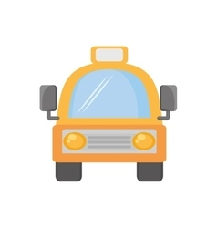 Taxi cab vehicule transport travel vector