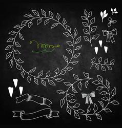 set decoration vector image